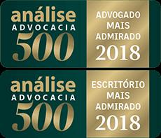 Análise Advocacia - Mais Admirado 2018